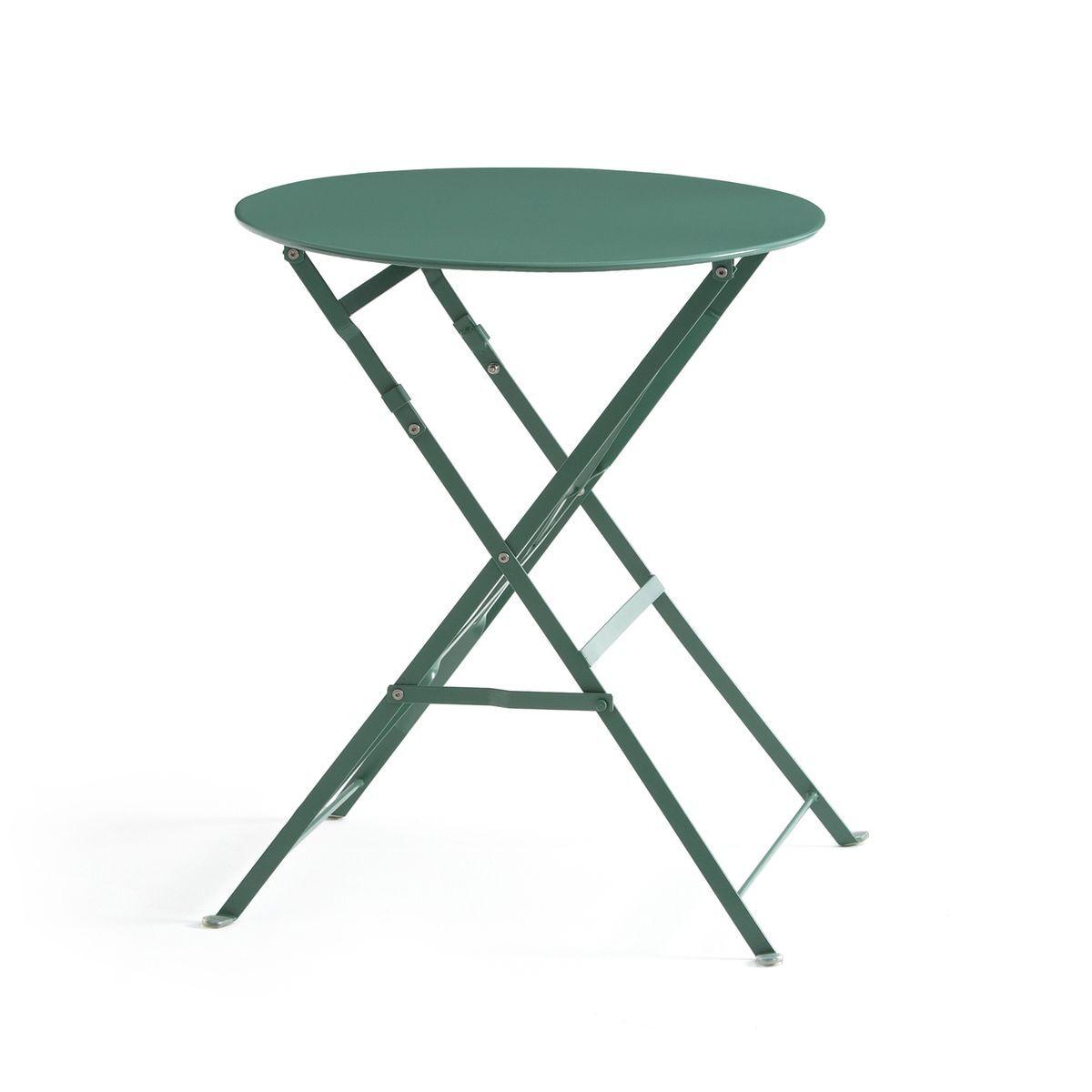 La Redoute Guéridon, table pliante en métal OZEVAN - LA REDOUTE INTERIEURS