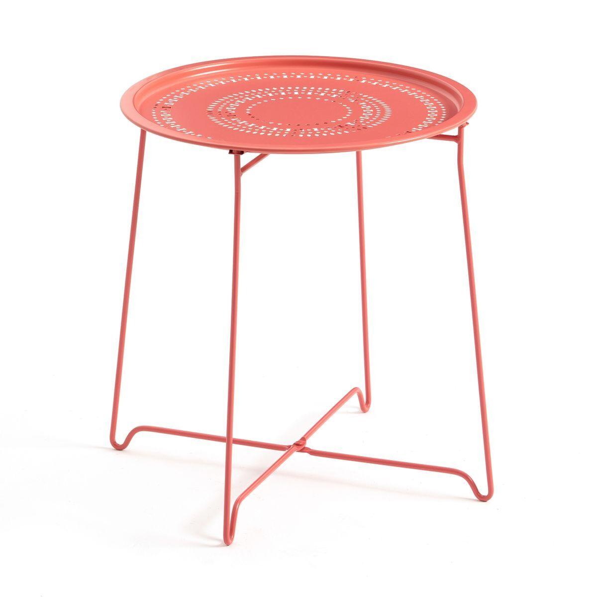 La Redoute Table basse Lisette, pliante, en métal - LA REDOUTE INTERIEURS