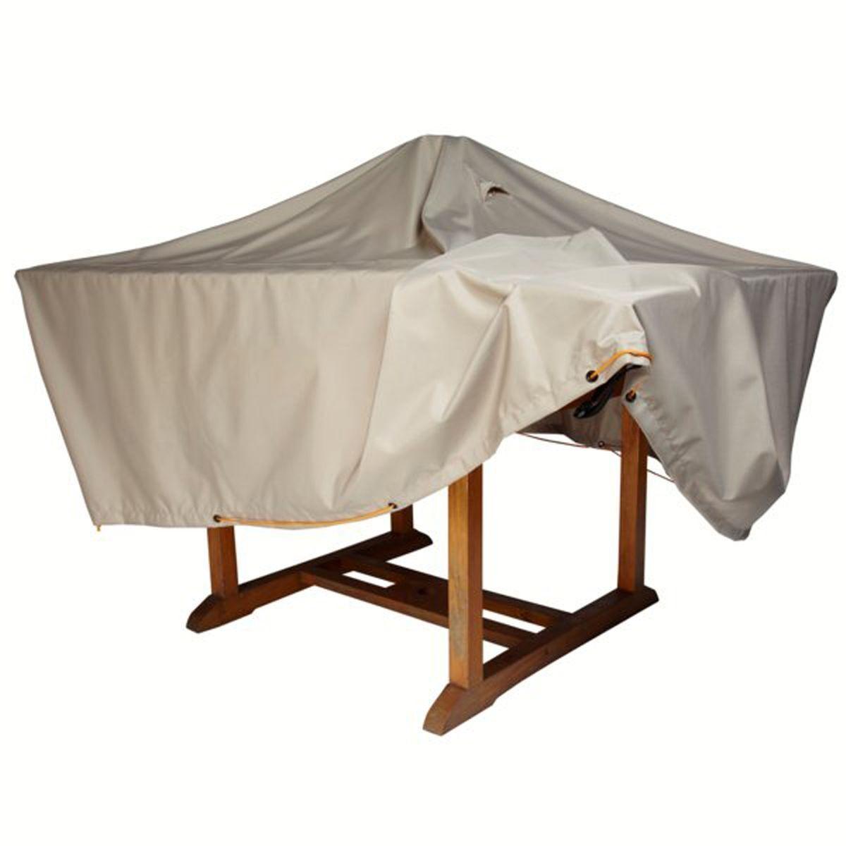 La Redoute Housse imperméable table de jardin larg. 170 cm - LA REDOUTE SHOPPING PRIX