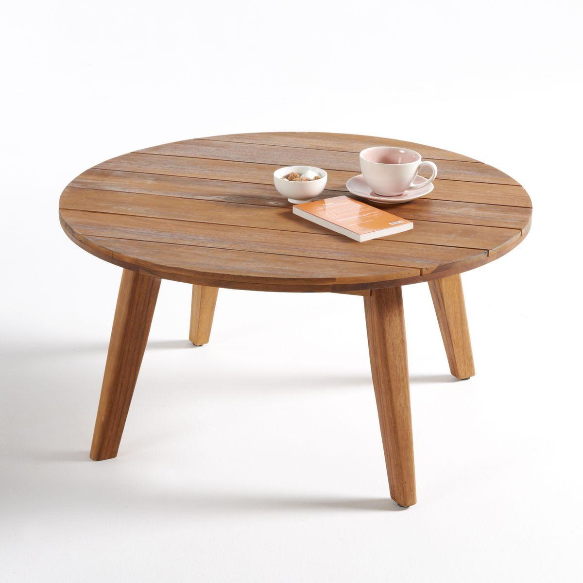 La Redoute Table basse de jardin en acacia Grigio - LA REDOUTE INTERIEURS