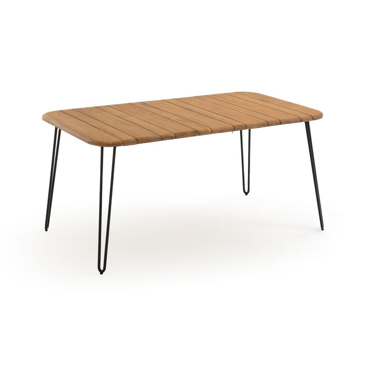La Redoute Table pliante Spritz acacia 6 personnes - LA REDOUTE INTERIEURS