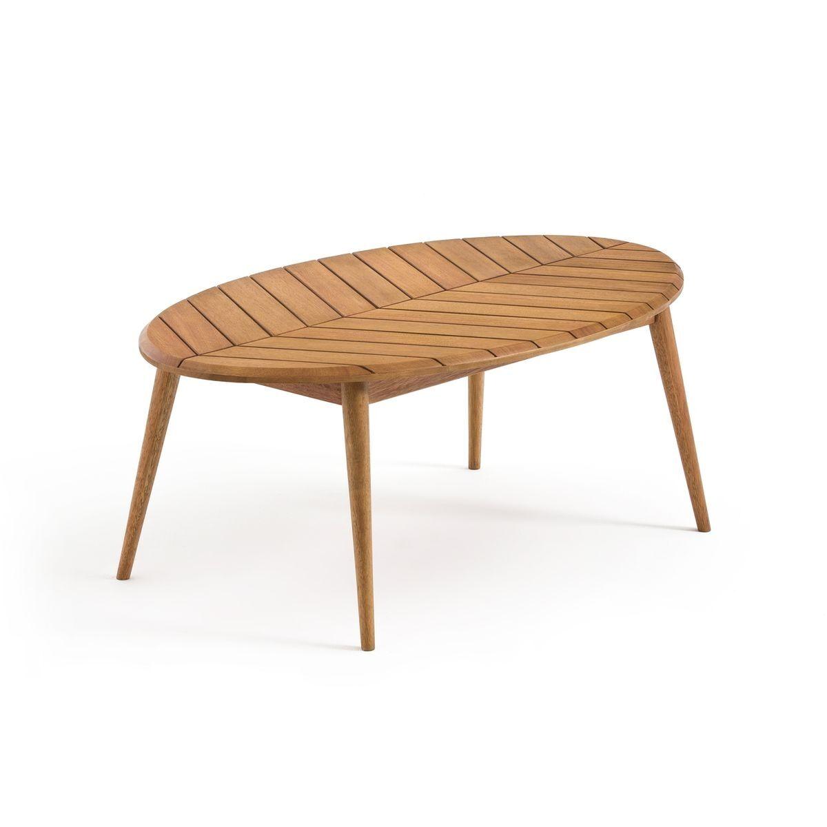 La Redoute Table basse de jardin eucalyptus FSC* MARSHAM - LA REDOUTE INTERIEURS