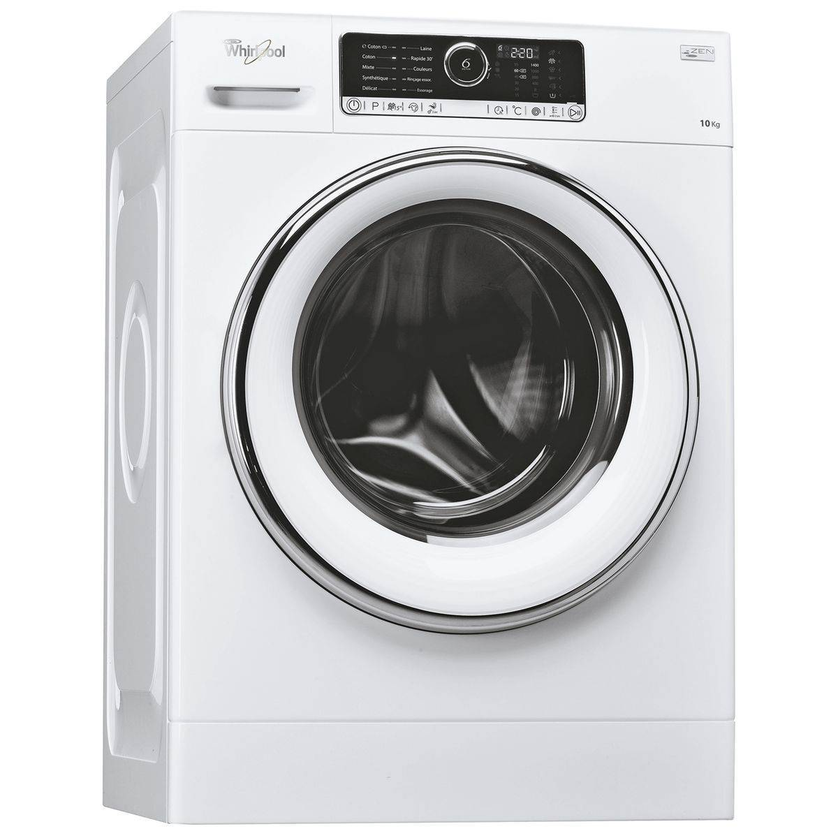 Whirlpool Lave-linge frontal Supreme Care FSCR10427 - WHIRLPOOL