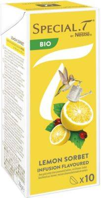 Nestle Capsules Nestle Special.T Infusion Lemon Rose Sorbet x10