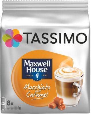 Tassimo Dosette Tassimo Tassimo Café Maxwell House Macchiato Caramel X8