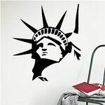 Yrmww Diy Statue De La Liberté Classique Américain Style Stickers Muraux... par LeGuide.com Publicité