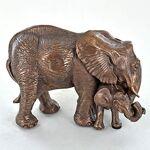 Bronze Sculptures Sculpture de Bronze mère &mollet Statue éléphant... par LeGuide.com Publicité
