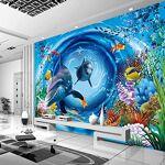 Wallpaper-3D-WYJ 3D Monde Sous-Marin de Bande Dessinée Enfants Chambre... par LeGuide.com Publicité