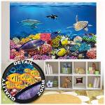 ART XXL Affiche Chambre d'enfant Aquarium Décoration murale monde... par LeGuide.com Publicité