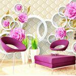 Czxmp Personnalisé Papier Peint Style européen Fleur rose 3D Étui souple... par LeGuide.com Publicité