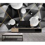 AHJFAKJGFAK Papier Peint 3D Motif Géométrique Bulle Créative Moderne... par LeGuide.com Publicité