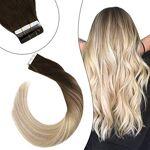 Ugeat 16Pouces Adhesive Bande Extension Cheveux Humain Remy Skin Weft... par LeGuide.com Publicité