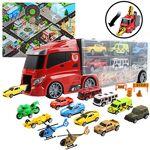 DeAO Set de véhicules en Forme de camionnette avec 6 Petits véhicules,... par LeGuide.com Publicité