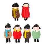 B Blesiya Statues de Jardin Décoration Miniature Figurines Décor Sculptures... par LeGuide.com Publicité