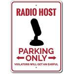 Aersing Panneau Humoristique en étain pour Radio ou stationnement en... par LeGuide.com Publicité