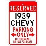 Aersing Panneau de stationnement en Aluminium de qualité 1939 39 39 pour... par LeGuide.com Publicité