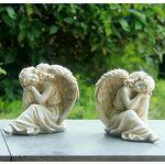 GMMH Lot de 2Ange 16641Statue de jardin décoration de jardin figurine... par LeGuide.com Publicité