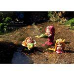 HomDSim Mini fée décorations de Jardin en résine Magnifique sirène sur... par LeGuide.com Publicité