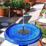 MASO Pompe de Bassin Solaire à énergie Solaire Floating Fountain-2.5W... par LeGuide.com Publicité