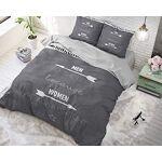 SLEEP TIME Housse de Couette Mrs. Always Right, 220cm x 240cm, Mit 2... par LeGuide.com Publicité