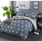 DOTBUY Parure de lit, 4 pièces Housse de Couette Microfibre Confortable... par LeGuide.com Publicité