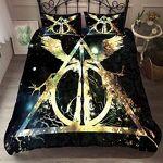 YOMOCO Parure de lit (220 x 240 cm), motifs «Harry Potter à l'école... par LeGuide.com Publicité
