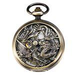 Treeweto Antique Mécanique Montre de Poche Chanceux Dragon & Phoenix... par LeGuide.com Publicité