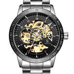 Astarsport Homme skull Squelette Mouvement mécanique Auto-matic montre... par LeGuide.com Publicité