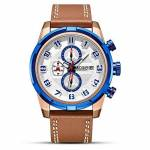 Luli Sport Quartz Chrono Montre en Cuir chronographe Chronomètre Homme... par LeGuide.com Publicité
