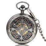 JewelryWe Montre de Poche Gousset Homme-Mécanique Manuel-Romain Chiffre... par LeGuide.com Publicité