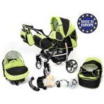 Baby Sportive Sportive X2 Landau pour bébé + Siège Auto Poussette Système... par LeGuide.com Publicité