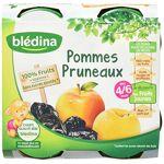 bledina  Blédina Coupelles Pomme Pruneau dès 4/6 mois 4 x 130 g Lot de... par LeGuide.com Publicité