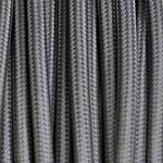 Merlotti Câble électrique revêtu de tissu ronde Couleur Gris Souris 2... par LeGuide.com Publicité