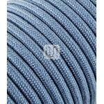 Merlotti Câble électrique revêtu de tissu ronde coloré tricot Ecru Bleu... par LeGuide.com Publicité