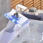 WYNYX ChromeLED lumière évier de salle de bains robinet robinet mélangeur... par LeGuide.com Publicité