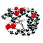 Nazareth Store Collier Chapelet Perles Hématite Noire 6mm Catholique... par LeGuide.com Publicité