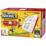 Nintendo Console Nintendo 2DS blanc & rouge + New Super Mario Bros. 2 édition... par LeGuide.com Publicité