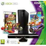 microsoft  Microsoft Console Xbox 360 4Go + Kinect + Kinect adventures... par LeGuide.com Publicité