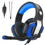 LATEC Casque Gaming PS4, Casque Gamer avec Micro Anti Bruit Audio Stéréo... par LeGuide.com Publicité