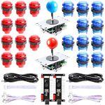 Hikig 2 Joueurs Kit de pièces bricolage LED arcade 2x codeurs USB Zero... par LeGuide.com Publicité