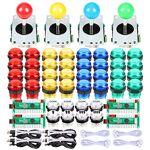 EG STARTS 4 joueur classique bricolage arcade joystick kit PC contrôles... par LeGuide.com Publicité