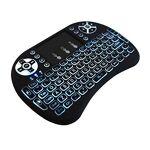 JUSTOP Mini clavier QWERTY sans fil rétroéclairé avec pavé tactile et... par LeGuide.com Publicité