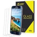 CRXOOX 3 Pièces Verre Trempé pour Samsung Galaxy S6 Protection Ecran... par LeGuide.com Publicité