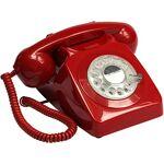 gpo  GPO 746 Téléphone fixe rétro de style années 1970 à cadran rotatif... par LeGuide.com Publicité