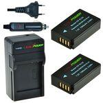 ChiliPower Chili Power en-el20, enel20Kit?: 2x Batterie + Chargeur... par LeGuide.com Publicité