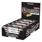 weider nutrition  Weider 52% Protein Barre Stracciatella 24 x 50 gm Ce... par LeGuide.com Publicité