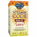 garden of life  Garden of Life Code vitamine, Raw D3, 2000 UI, 120 Veggie... par LeGuide.com Publicité