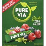 pure  Pure Stévia 40 sticks Pure Via Stévia 40 sticks par LeGuide.com Publicité