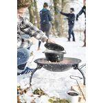 la hacienda  La Hacienda Brasero de Camping avec Grille 58106 Pieds Pliables... par LeGuide.com Publicité
