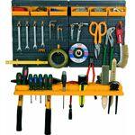 ART Support de rangement pour outils, avec étagère, 6 contenants et 19... par LeGuide.com Publicité